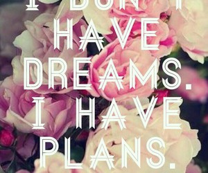 Dream, plan, and wallpaper image