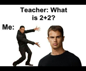 four, divergent, and math image