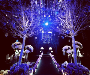 beautiful, blue, and ceremony image