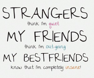 friends, stranger, and best friends image