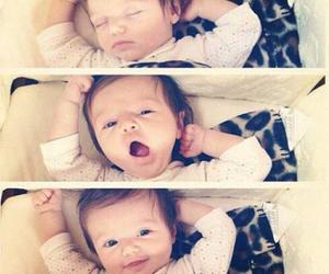 baby, sleep, and socute image