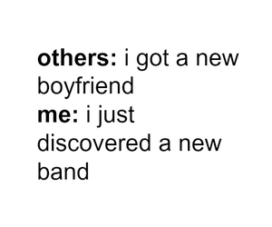 band, boyfriend, and music image