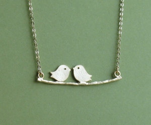 birds, fashion, and necklace image
