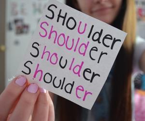 her, hold, and shoulder image