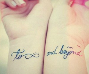 tattoo, infinity, and beyond image