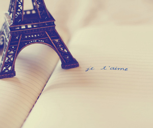 paris, je t'aime, and eiffel tower image