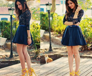 fashion, dress, and swag image