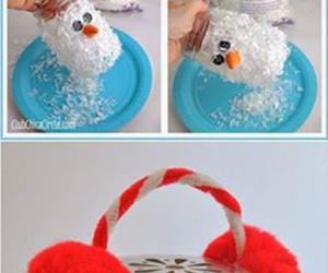 diy, christmas, and snowman image