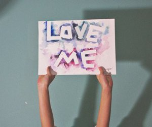love me and love image