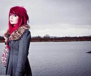 girl, red hair, and ruiva image