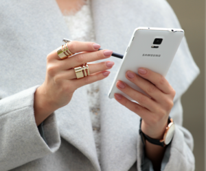 fashion, style, and samsung image