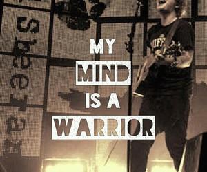 ed sheeran, quote, and warrior image