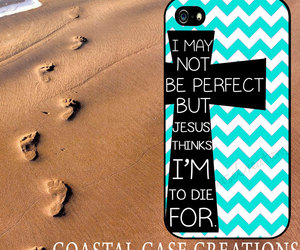 chevron, girly, and bible quote image