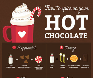 food, hot ​chocolate, and yummy image