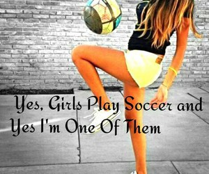 soccer and girl image
