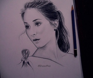 art, drawing, and pretty little liars image
