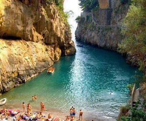 beach, summer, and italy image