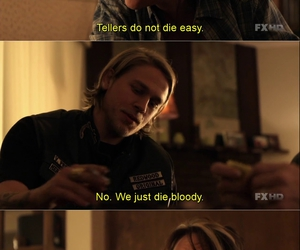 Charlie Hunnam, quote, and subtitles image