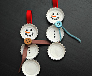 christmas, diy, and snowman image