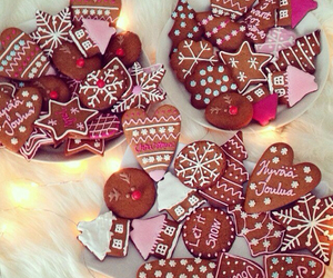 christmas, finland, and cookie image
