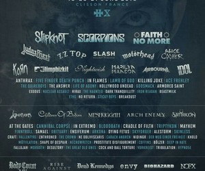 hellfest, metal, and scorpion image