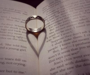 book, ring, and cute image