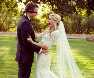 wedding, dress, and adorable image