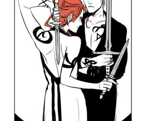 clary fray, shadowhunters, and the mortal instruments image