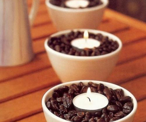 candle, coffee, and diy image