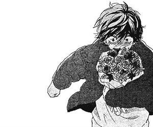 manga, ao haru ride, and shoujo image