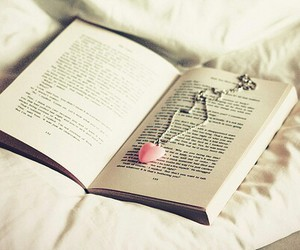 books, we♥it, and necklace image