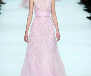 dress, elie saab, and beautiful image