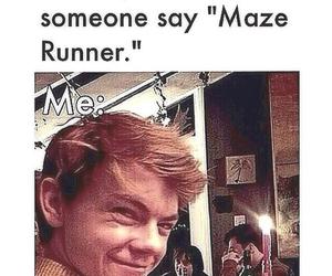 newt, maze runner, and the maze runner image