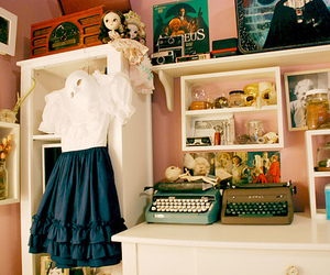 room, dress, and vintage image