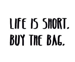 bag and quote image