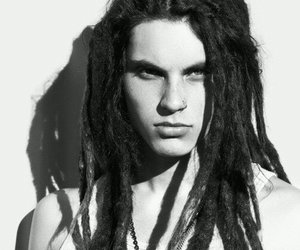 samuel larsen, glee, and black and white image