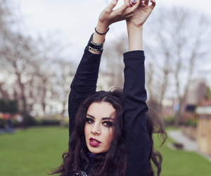 girl, charli xcx, and black image