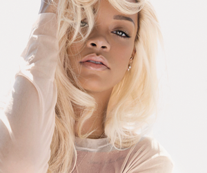 rihanna, hair, and blonde image