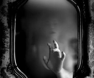 mirror, dark, and ghost image