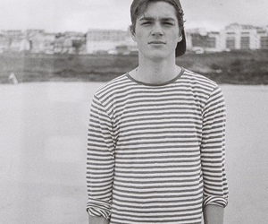 boy, black and white, and jack harries image