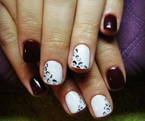 animal print, nail art, and nails image