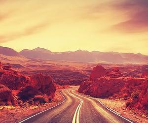 landscape and road image