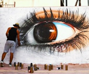 art, eyes, and eye image