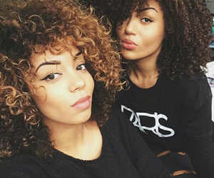beauty, curly, and beautiful image