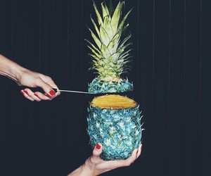 pineapple and grunge image