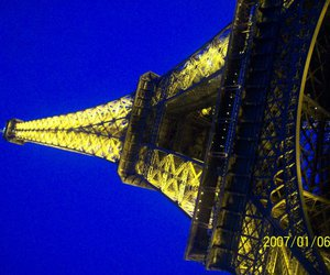 eiffel tower, pretty, and light image