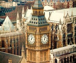 london, Big Ben, and uk image