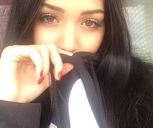 girl, adidas, and eyes image