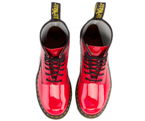 boots, desire, and red shoes image