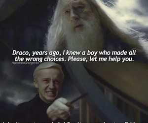 choice, dumbledore, and harrypotter image